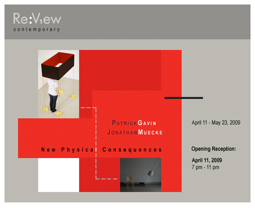 New Physical Consequences Opening April 11 at Re:View Contemporary